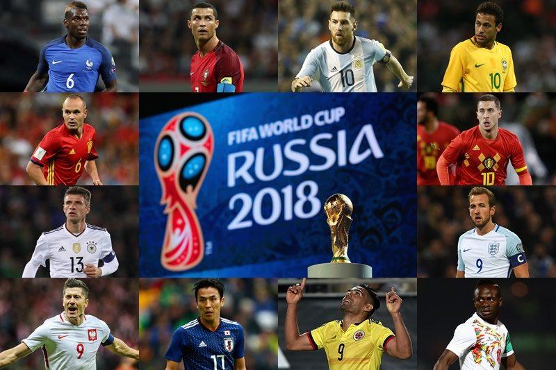 ワールドカップ2018ロシア大会の日程と結果とブックメーカーオッズ